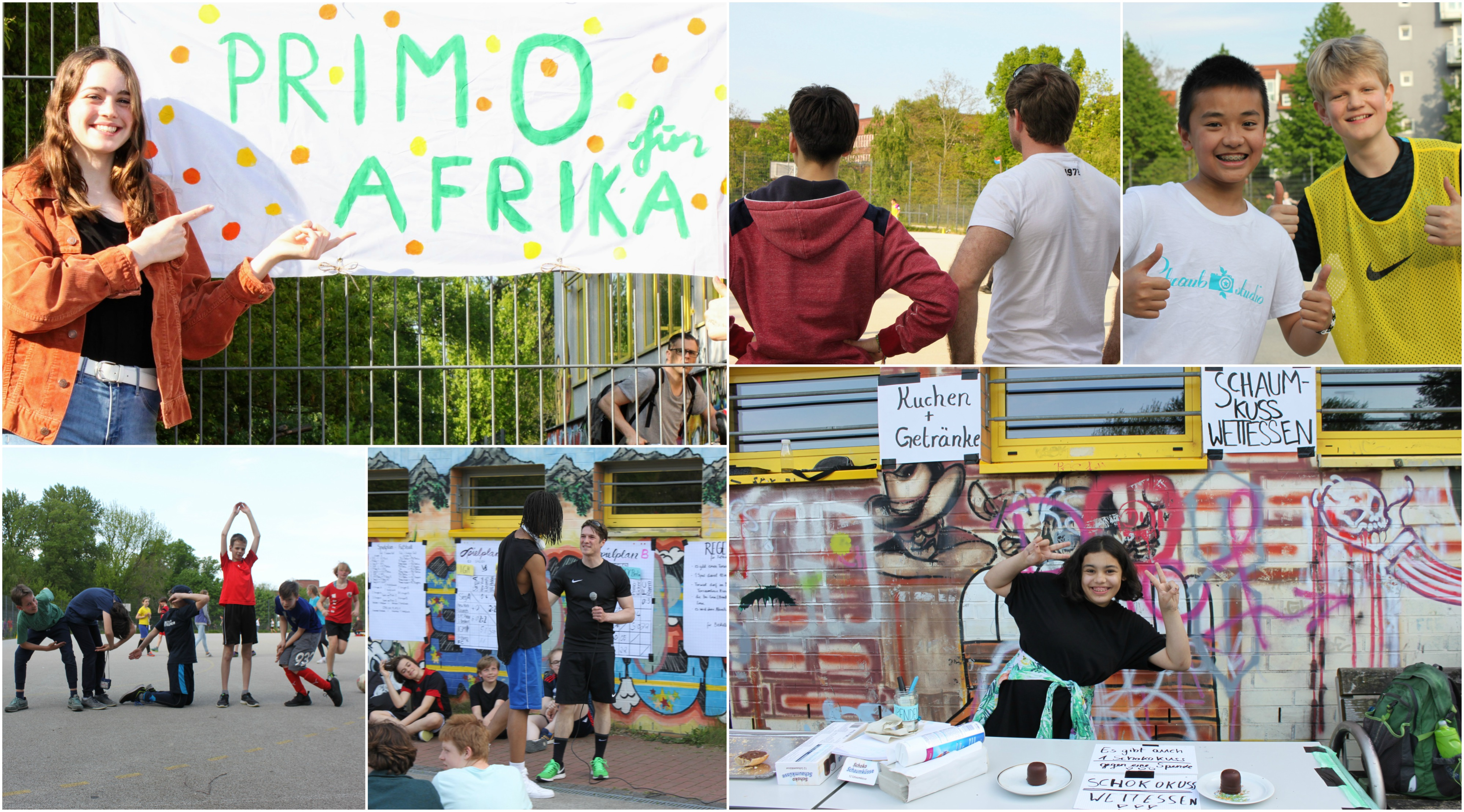 Primo fur Afrika Collage